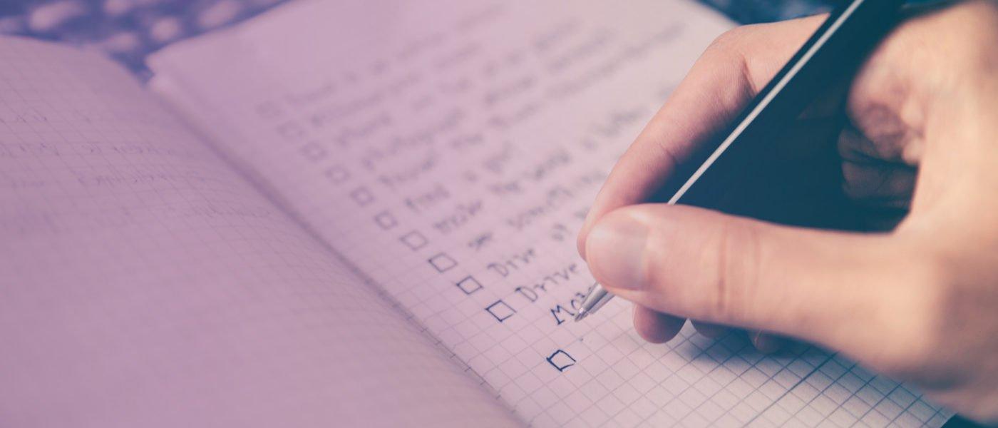 چک لیست استراتژی